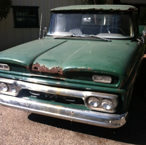 Clint's pickup from The Bridges Of Madison County, sitting at Mission Ranch